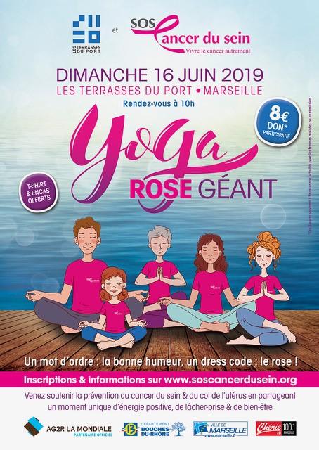 Yoga rose géant